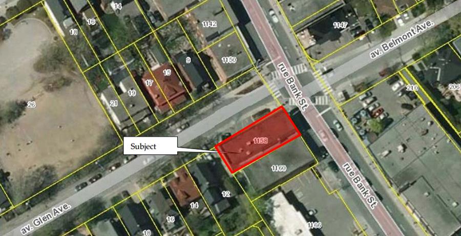 1158-Bank-Street-Aerial-Map